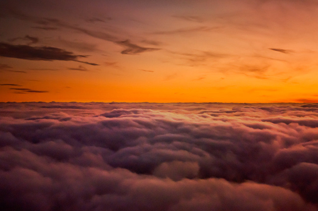 Cheap 3d Wallpaper Sunset Above The Clouds Explored 18 10 2011 On Flight