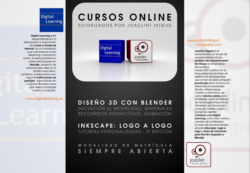 Cursos Diseño Gráfico (tríptico) Tríptico donde se anuncia\u2026 Flickr
