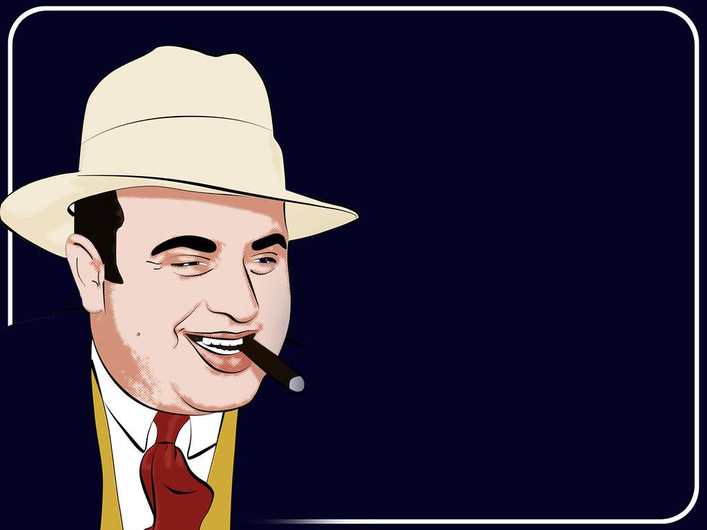 Gangster Wallpaper 3d Al Capone My Twist On A Pop Art Style Portrait Of Al