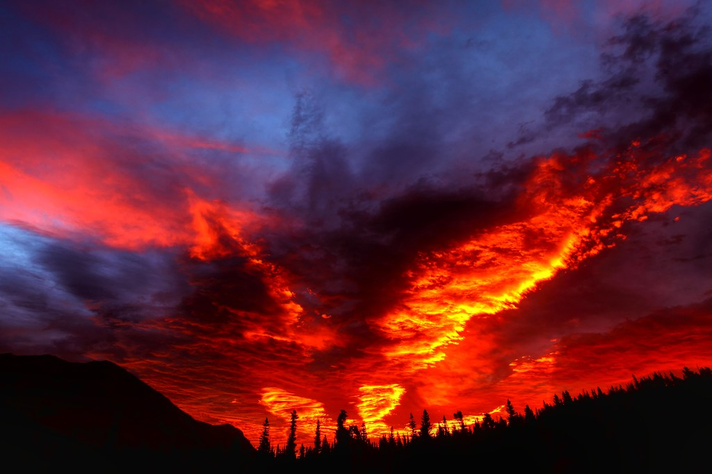 Sunrise 3d Wallpaper Glacier Fire Sunrise If You Are Interested In Purchasing