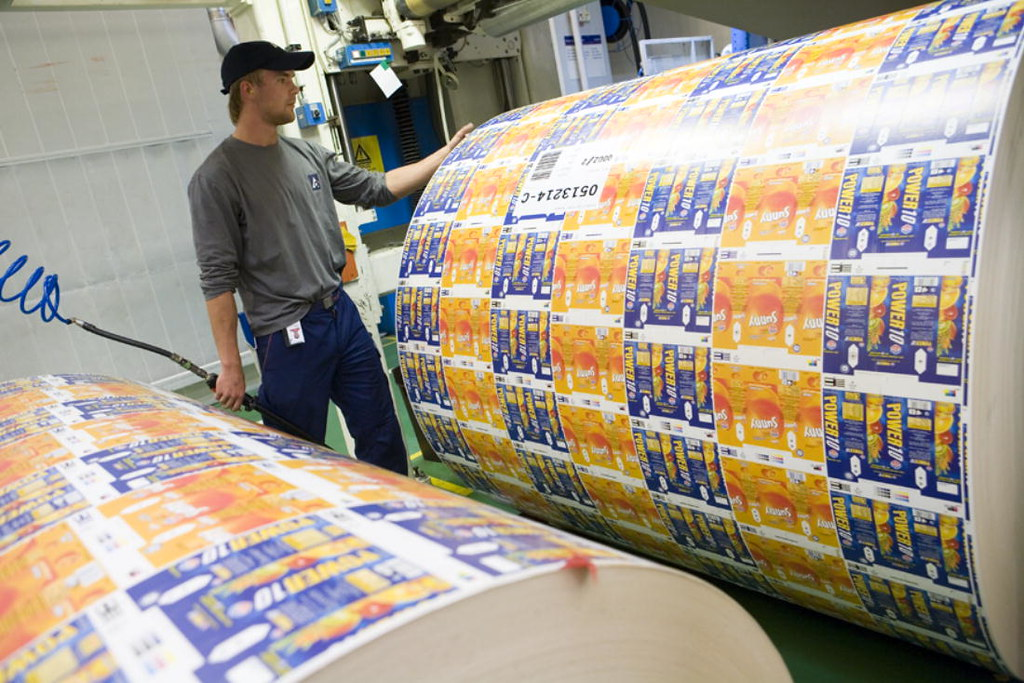 Tetra Pakr Production Of Packaging Material Production O Flickr