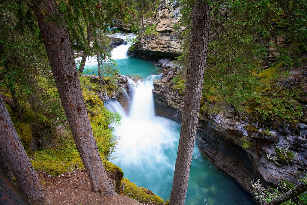 World Best 3d Wallpaper Johnston Canyon Banff Np Alberta Canada This Is A Great