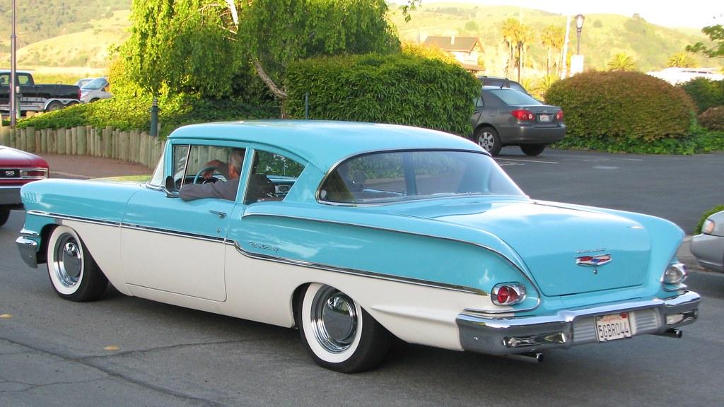 Free Classic Car Wallpaper 1958 Chevrolet Delray 2 Door Hardtop 5gbr044 3