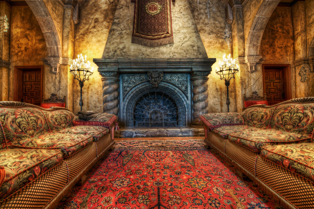 3d Kamin The Fireplace In The Tower Of Terror | I've Always Wanted