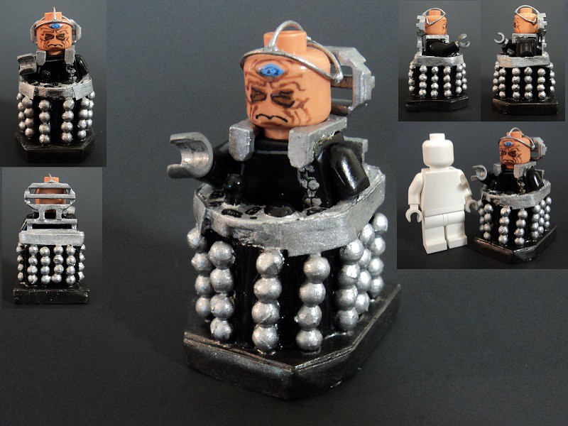 Pro Tape Davros | Davros, From Doctor Who. The Chair Thing Is Mad