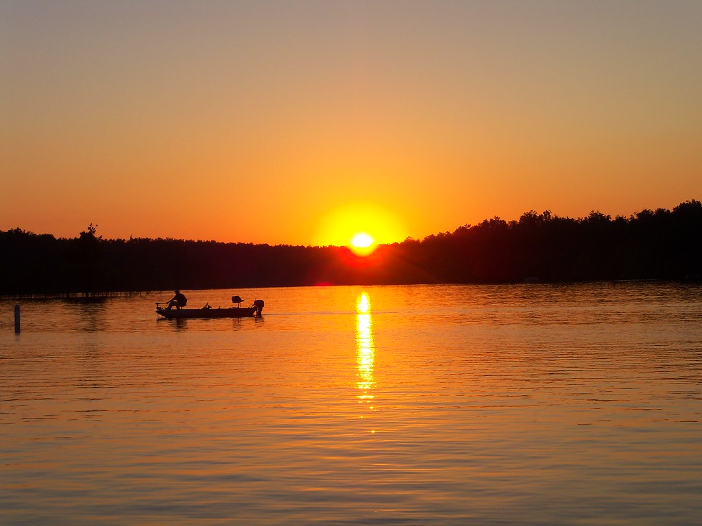 Sun Wallpaper Hd Sunset Fishing At Rough River Lake Honorable Mention A