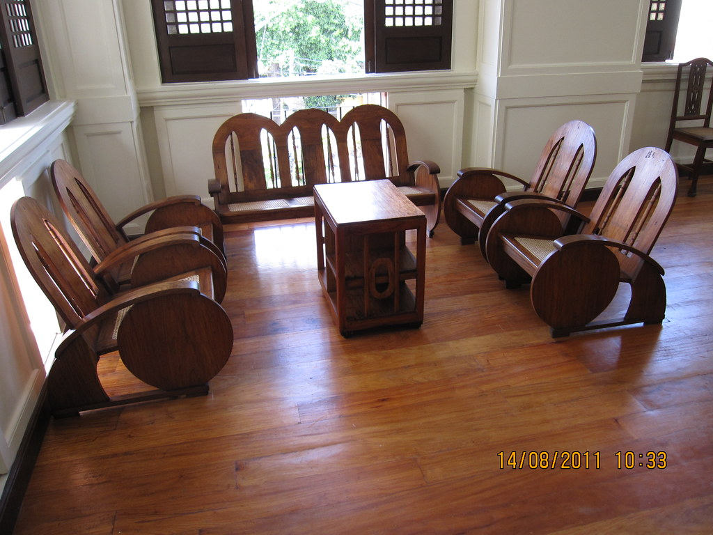 Wooden Sala Set Rizal Charitable Fund Raiser Ambassador Sala Set A Five Piece