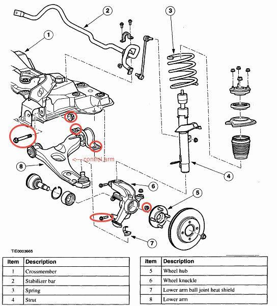 ford focus engine diagram 2001