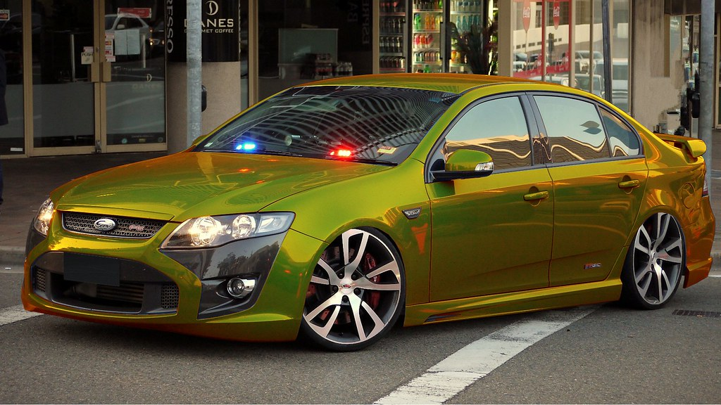 Cool Modified Cars Wallpapers Fpv Ford Falcon F6 310 Typhoon Quot Gold Quot Chromium Gold F6