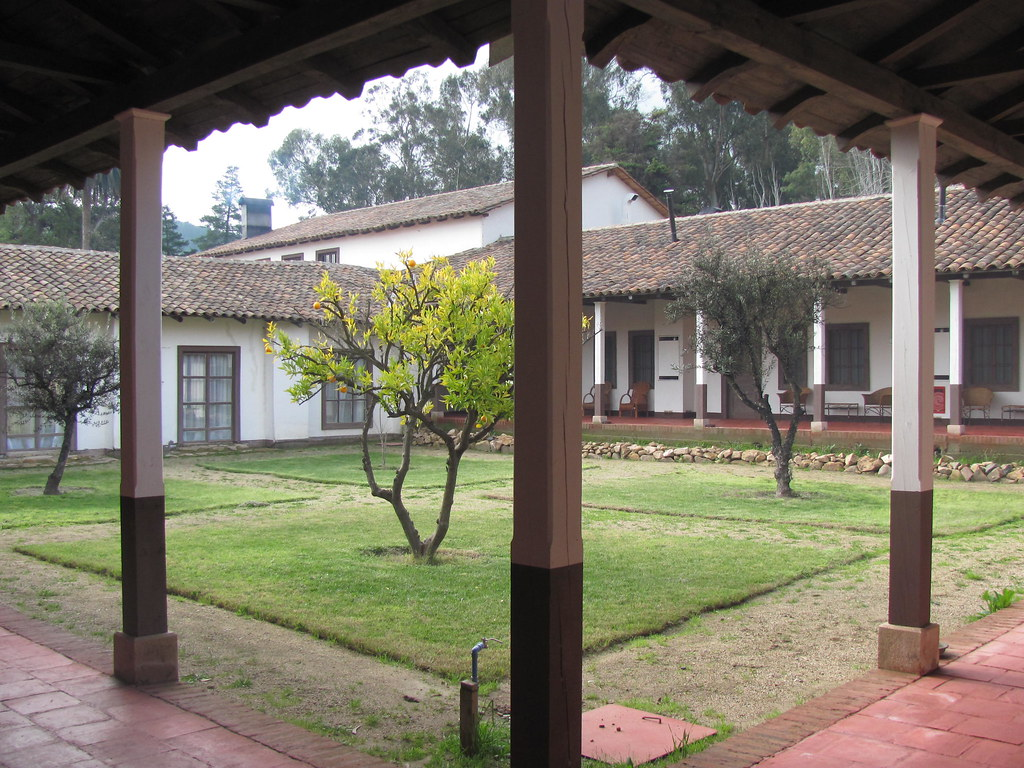 Patio Colonial Marchihue O39higgins Chile Tipicos
