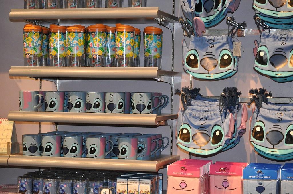 Cute Minnie Mouse Wallpaper Tokyo Disneyland 143 Stitch Merchandise Sean C Flickr