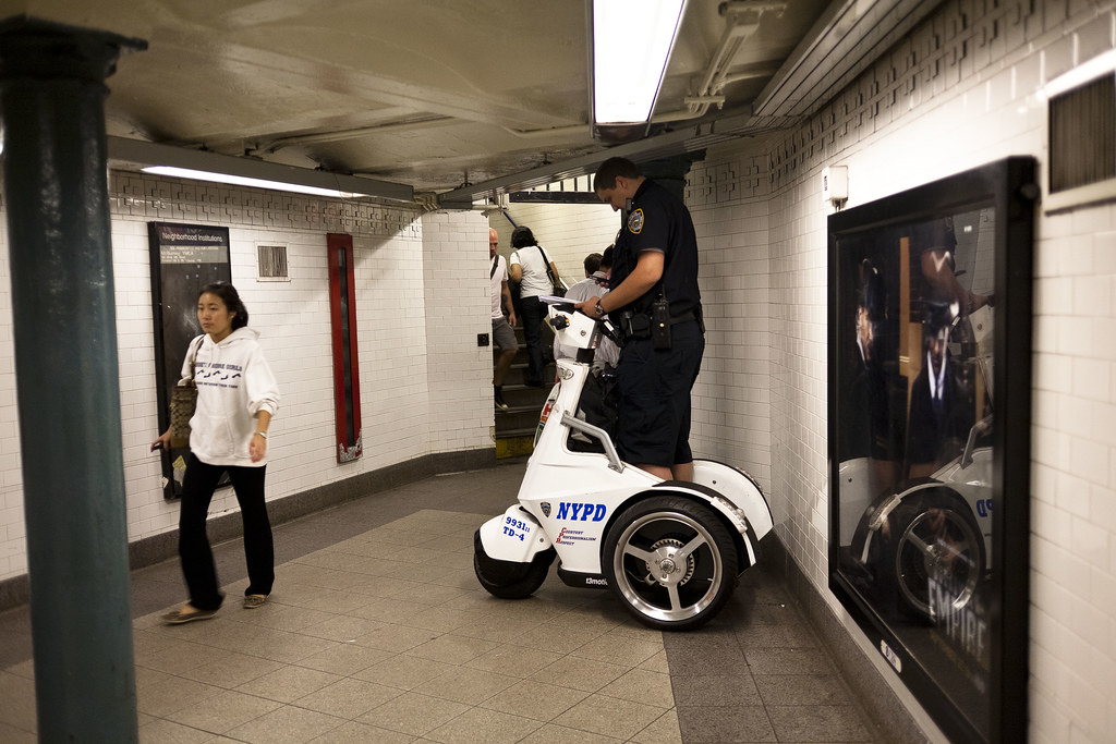 "Design Blog Nypd Segway-like 3-wheeler | ""you Must Not Be This Tall To"