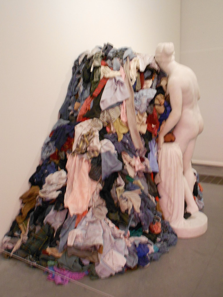Arte Povera Venus Venus Of The Rags By Michelangelo Pistoletto At The Tate M Flickr