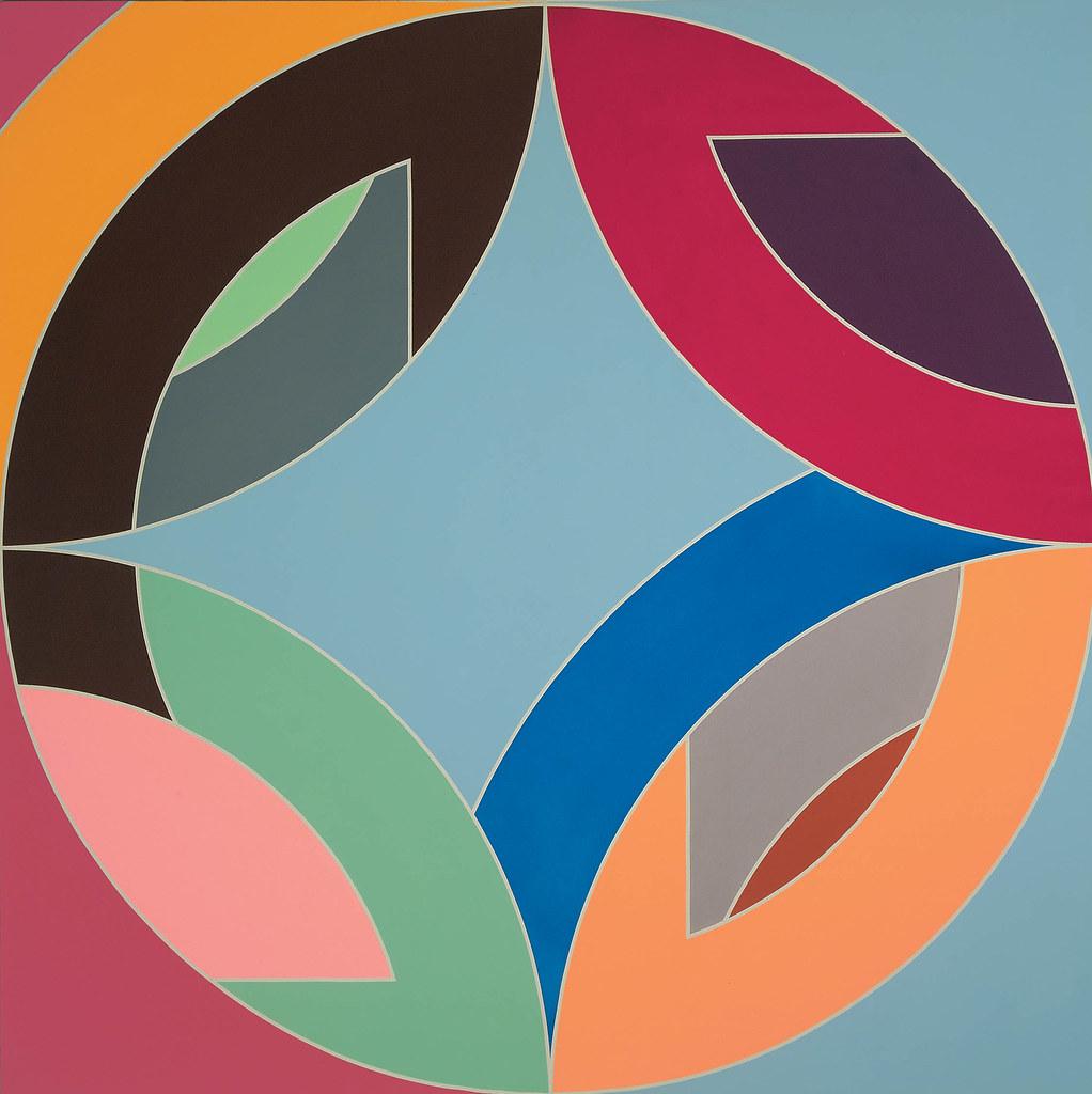 3d Art Mobile Wallpaper Frank Stella Flin Flon Viii 1970 Frank Stella Born