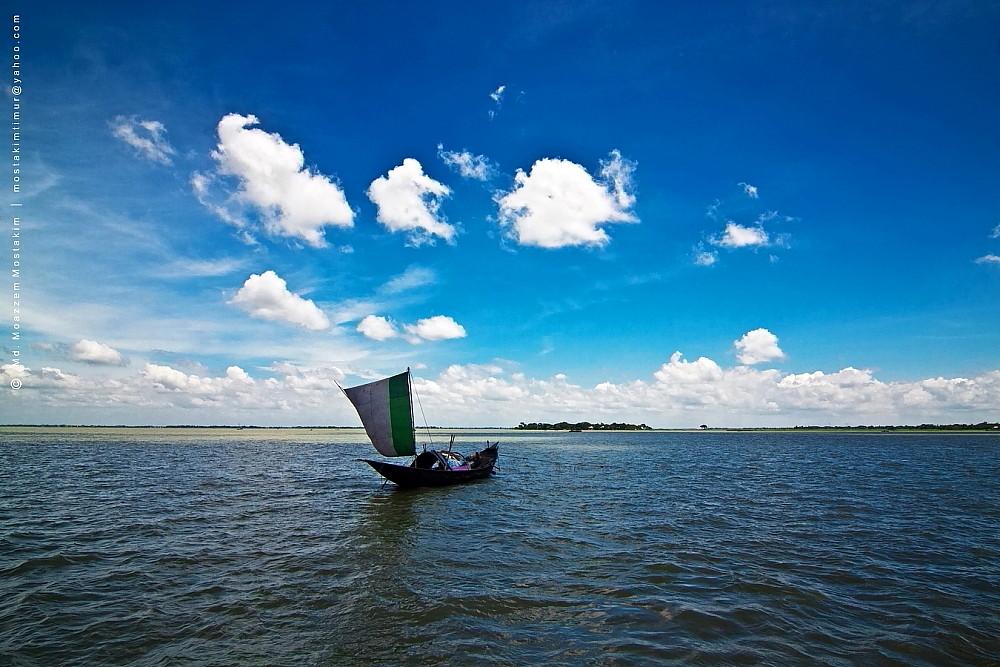 Free Wallpaper 3d Hd Boat On River Meghna Location Meghna River Bangladesh