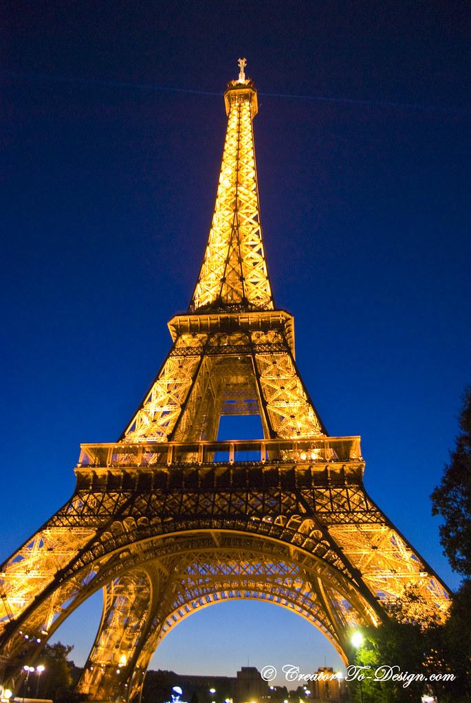 3d Wallpaper Full Hd For Pc Paris Eiffel Tower Night Paris Tour Eiffel De Nuit Flickr