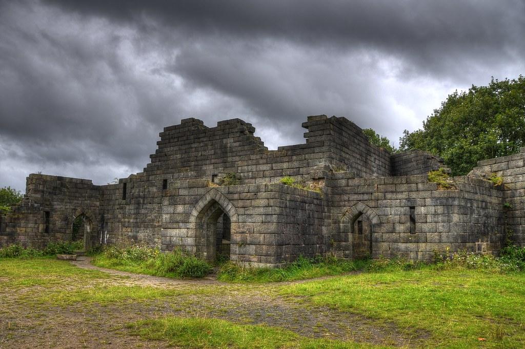 Liverpool Wallpaper 3d Liverpool Castle Ruins Rivington Lancashire England