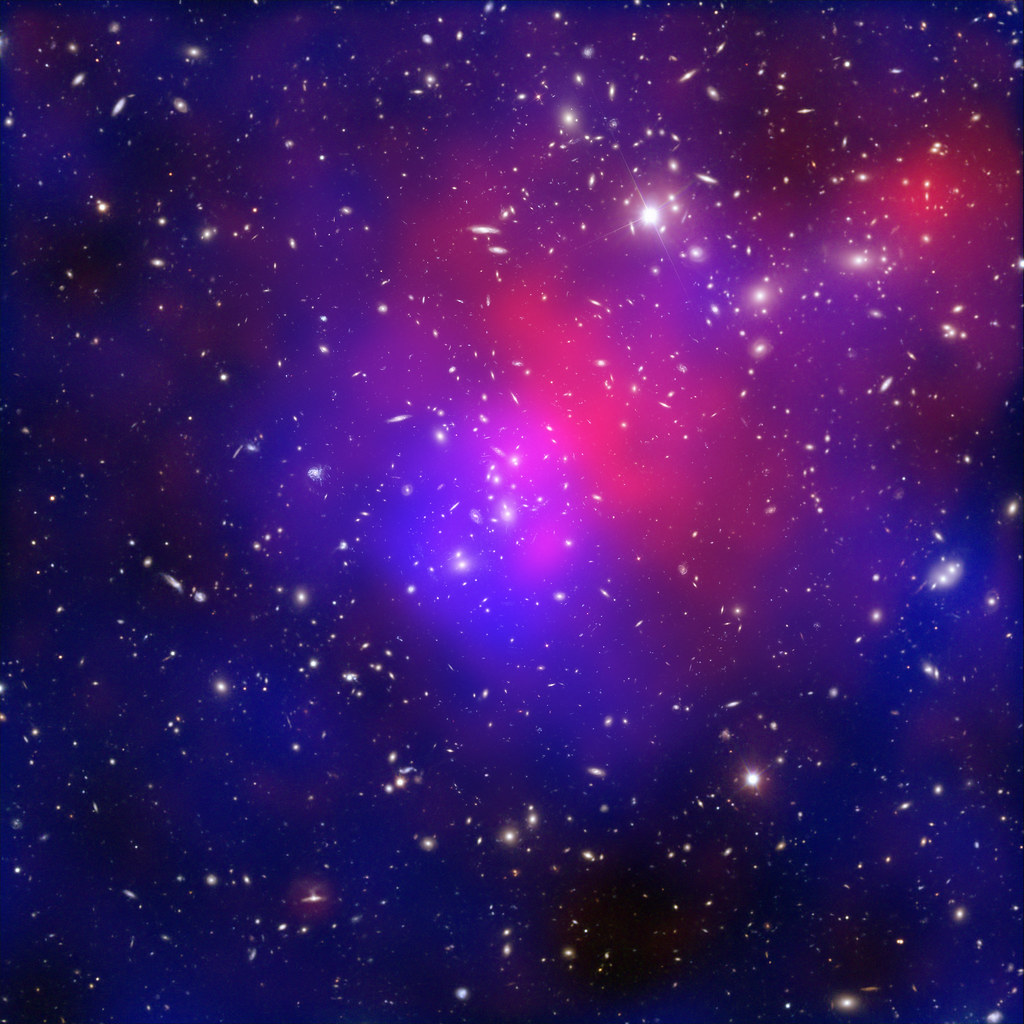 Live 3d Dolphin Wallpaper Pandora S Cluster Revealed A Collision Of Galaxy Clusters