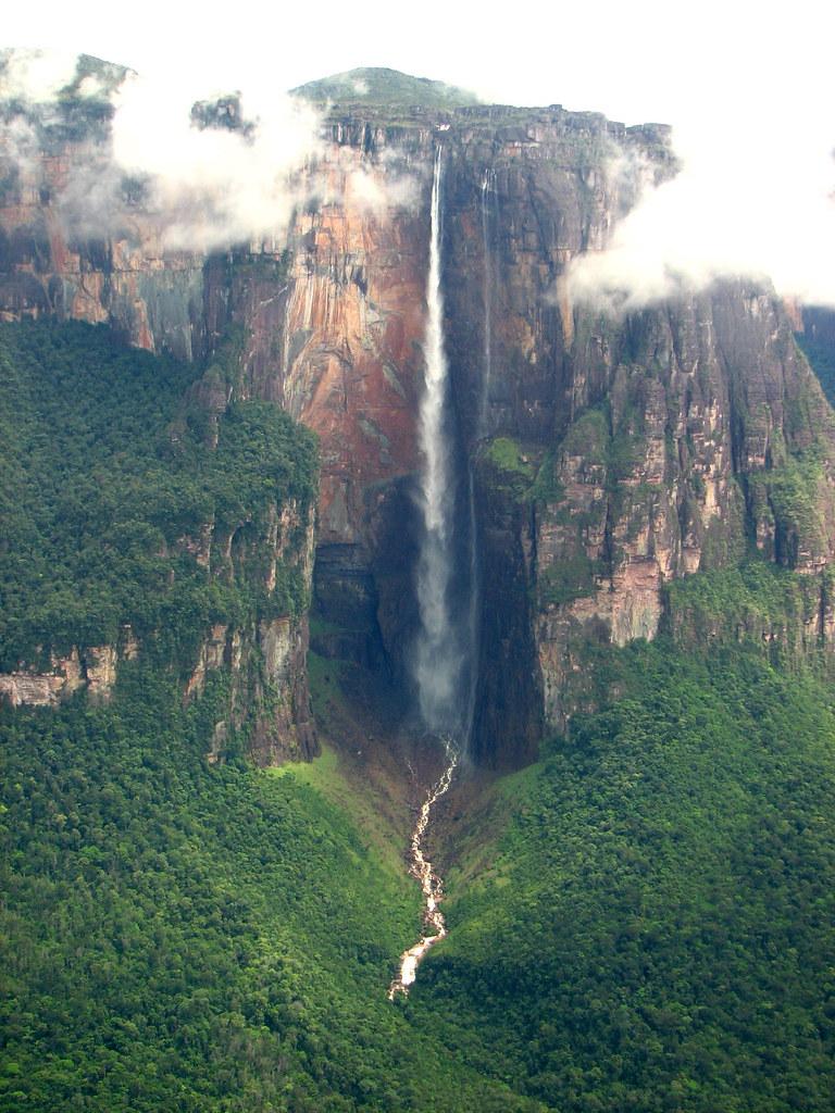 Angel Falls Wallpaper Kerepakupai Ven 225 Angel Falls Venezuela Ben Price Flickr