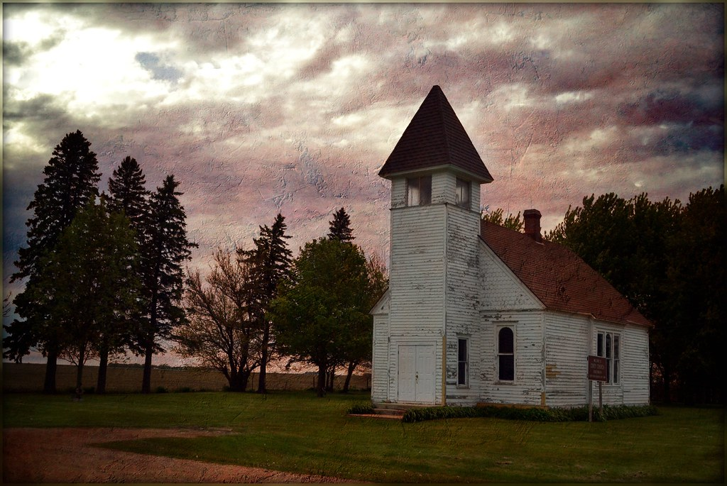 Wallpaper Space 3d Country Church Covey Methodist Church O Brien County