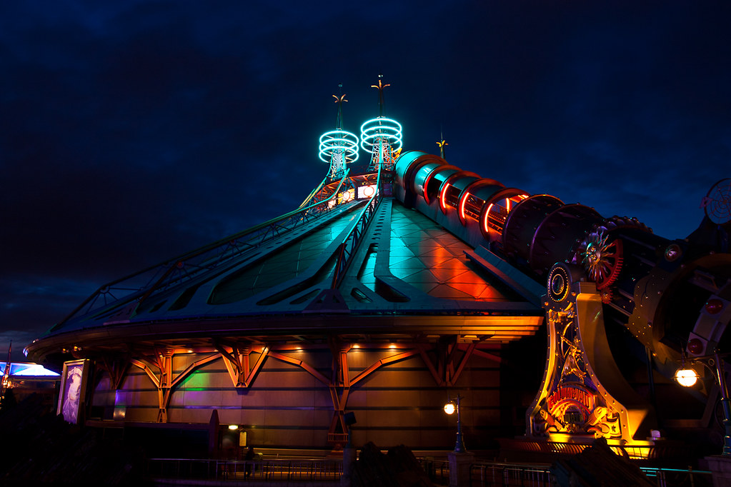 Hyperspace 3d Wallpaper Disneyland Paris Space Mountain Mission 2 Tamron 17