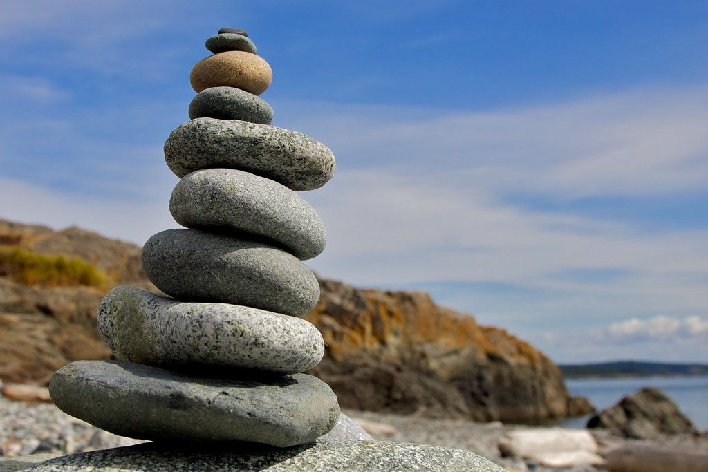 Hd Wallpaper Of World Stack Of Rocks Cattle Point San Juan Island Ryan