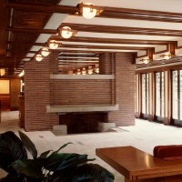 Robie House fireplace | Robie House image by Tim Long ...