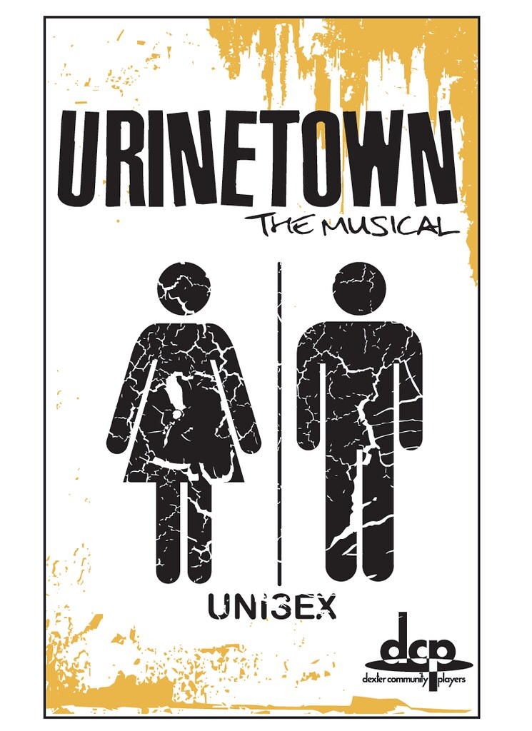 Urinetown The Musical Program Cover This program cover / p\u2026 Flickr