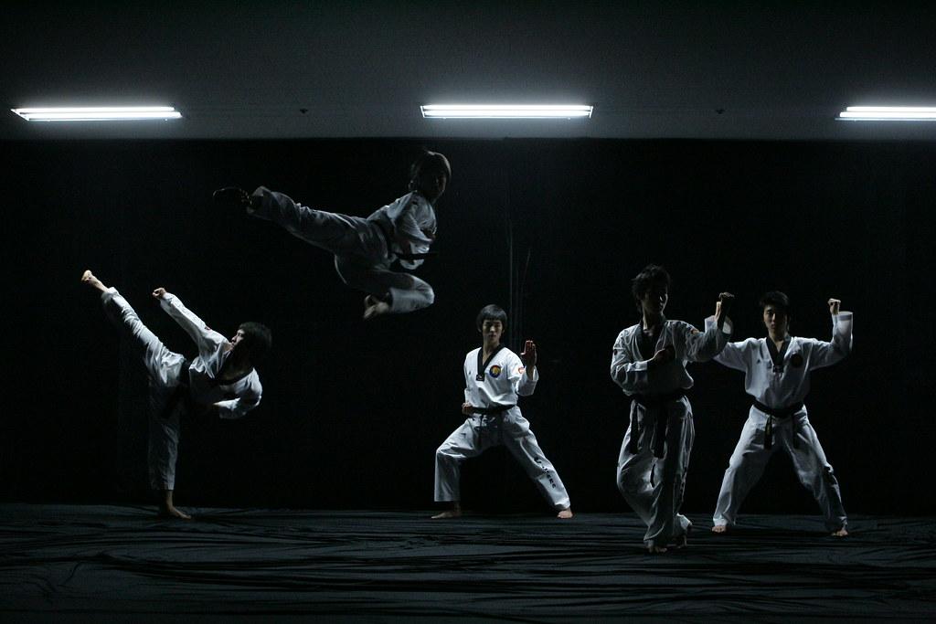 Wallpaper Korea 3d Taekwondo Performance By K Tigers The K Tigers Taekwondo