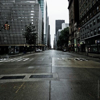#76 - empty streets | empty streets in Midtown Manhhattan, N… | Flickr