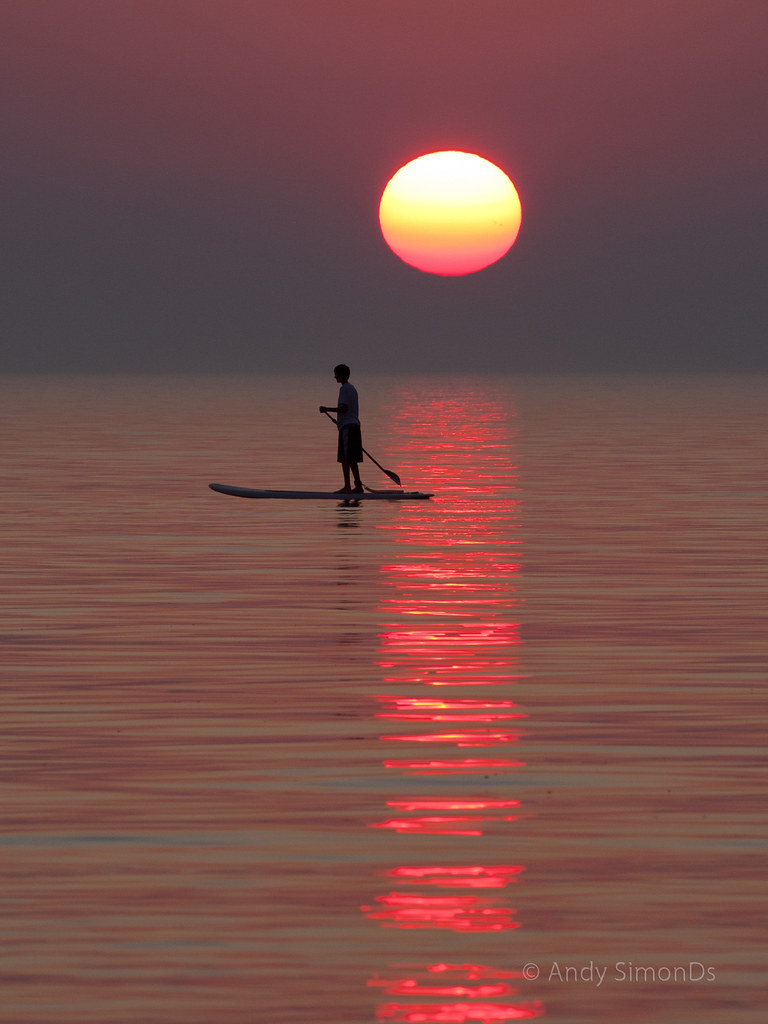 Fishing Boat Wallpaper Hd Sunset Paddleboard At Pier Cove Canon 40d 70 200 L F 8
