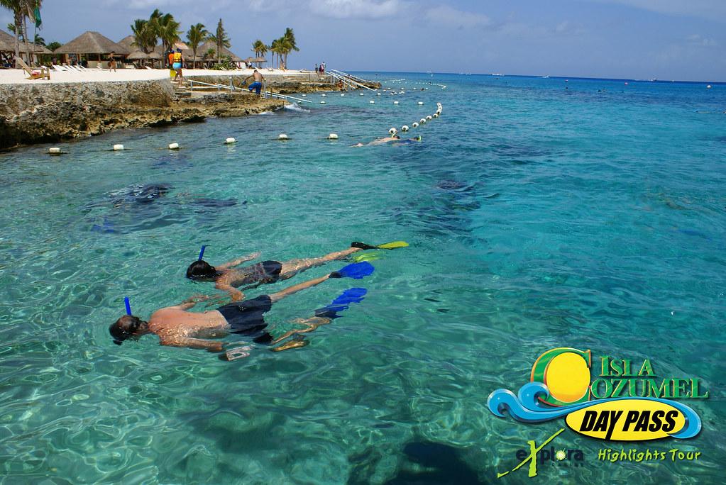 A Wallpaper 3d Isla Cozumel Highlights Day Pass Snorkeling Snorkeling