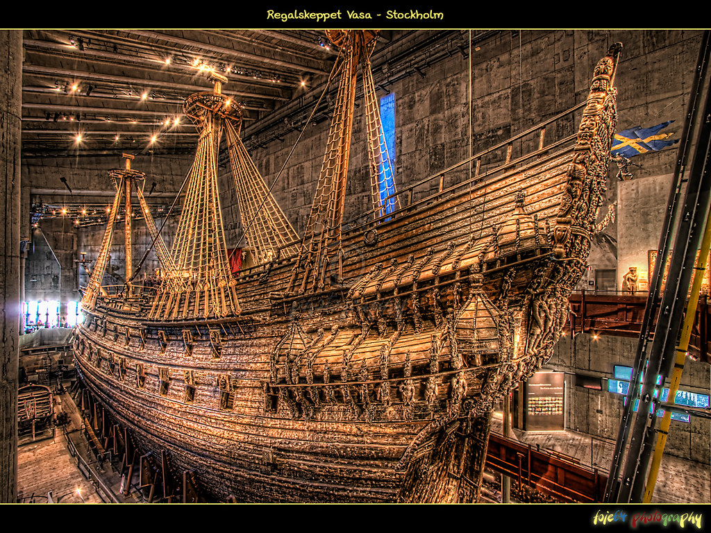 Usm Regal Regalskeppet Vasa | Today's Upload Is A Hdr Of The Real