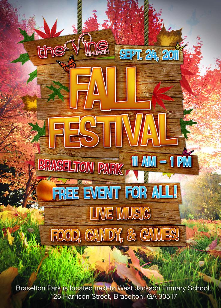 Fall Festival Invite Graphic Invite flyer for church\u0027s fal\u2026 Flickr