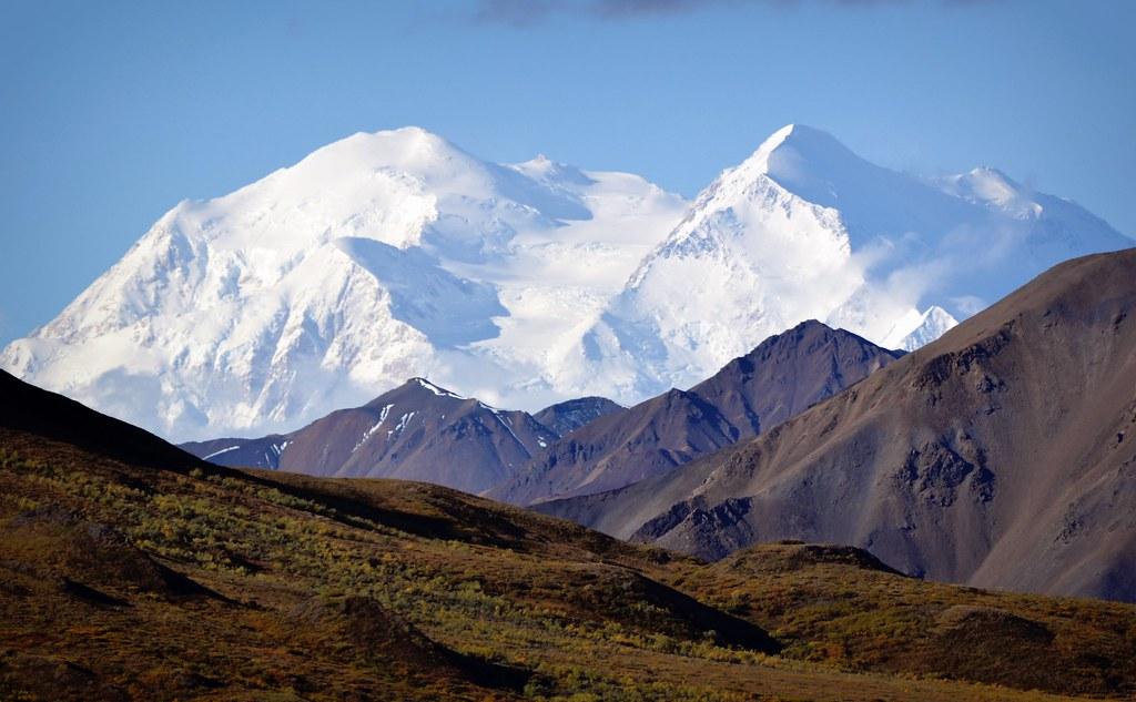 3d Scenery Wallpaper Denali Sunshine Mountain Alaska Truly It May Be Said