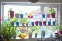 ikea hack - varde shelving for kitchen windowsill | Do you ...