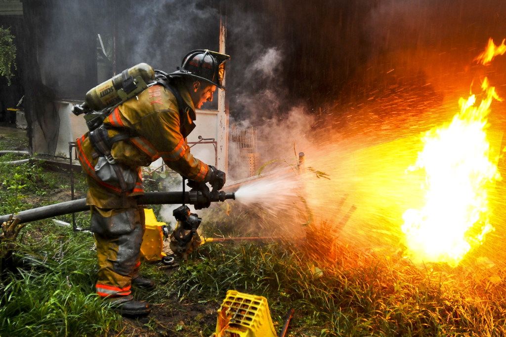Firefighter Quotes About Courage Wallpaper Putting Out Fires Army Pvt 1st Class Lucas Ternell A