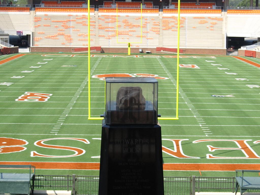 Message Wallpaper Hd Howard S Rock Memorial Stadium Clemson University Tigers