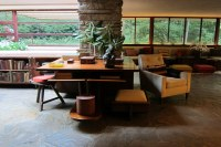PA - Mill Run: Fallingwater - Living Room - Library Area ...