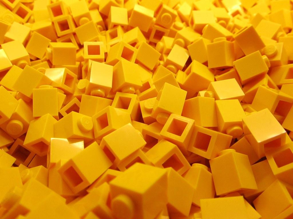 Wallpaper Brick 3d Lego Bricks Yellow 2 Alejandro Flickr