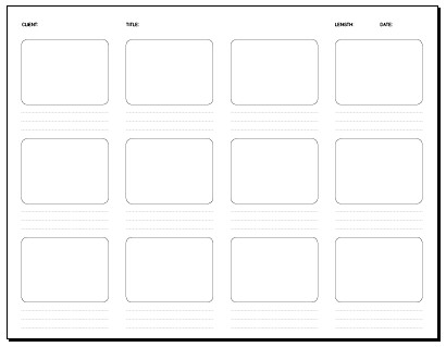 Frame Storyboard X In Storyboard Template Pdf Flickr Photography