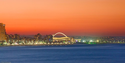 Sky Hd Wallpaper Durban Skyline From Moyo Pier Sunset Shot Taken From