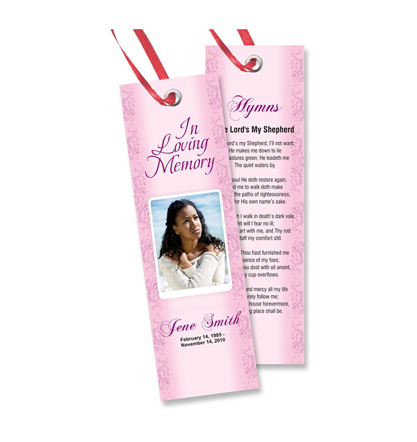 Free memorial bookmarks templates download We specialize i\u2026 Flickr
