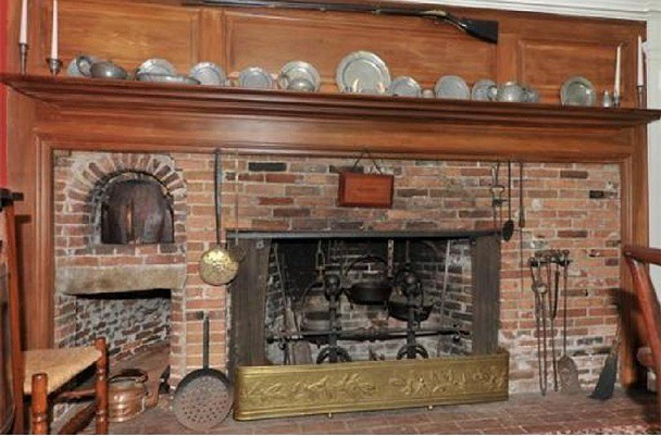 Colonial Cooking Fireplace Regulusalpha Flickr