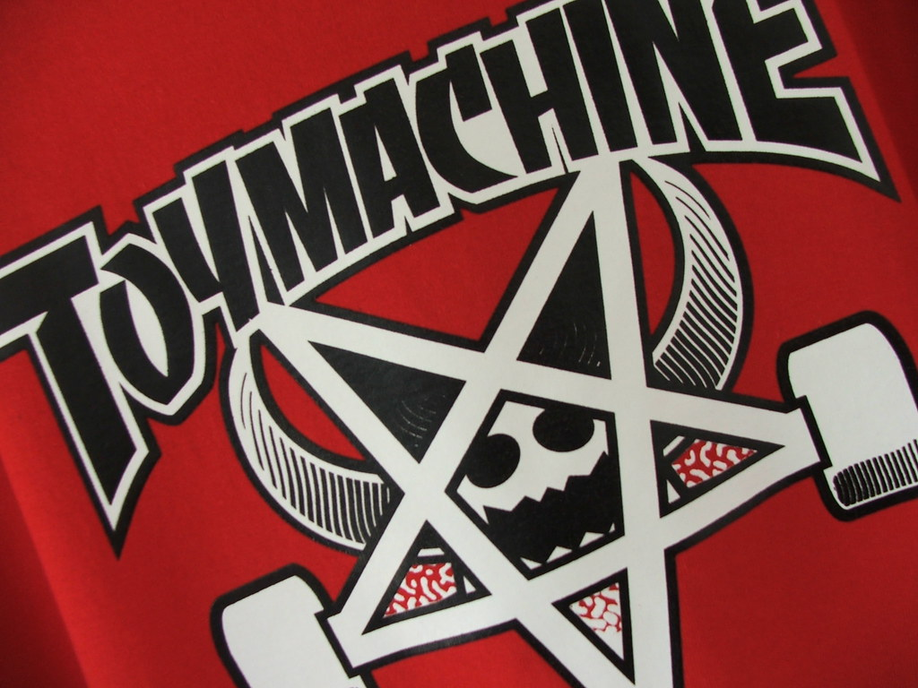 Wallpaper Volcom 3d Toy Machine Teo Skateworld Shop Flickr
