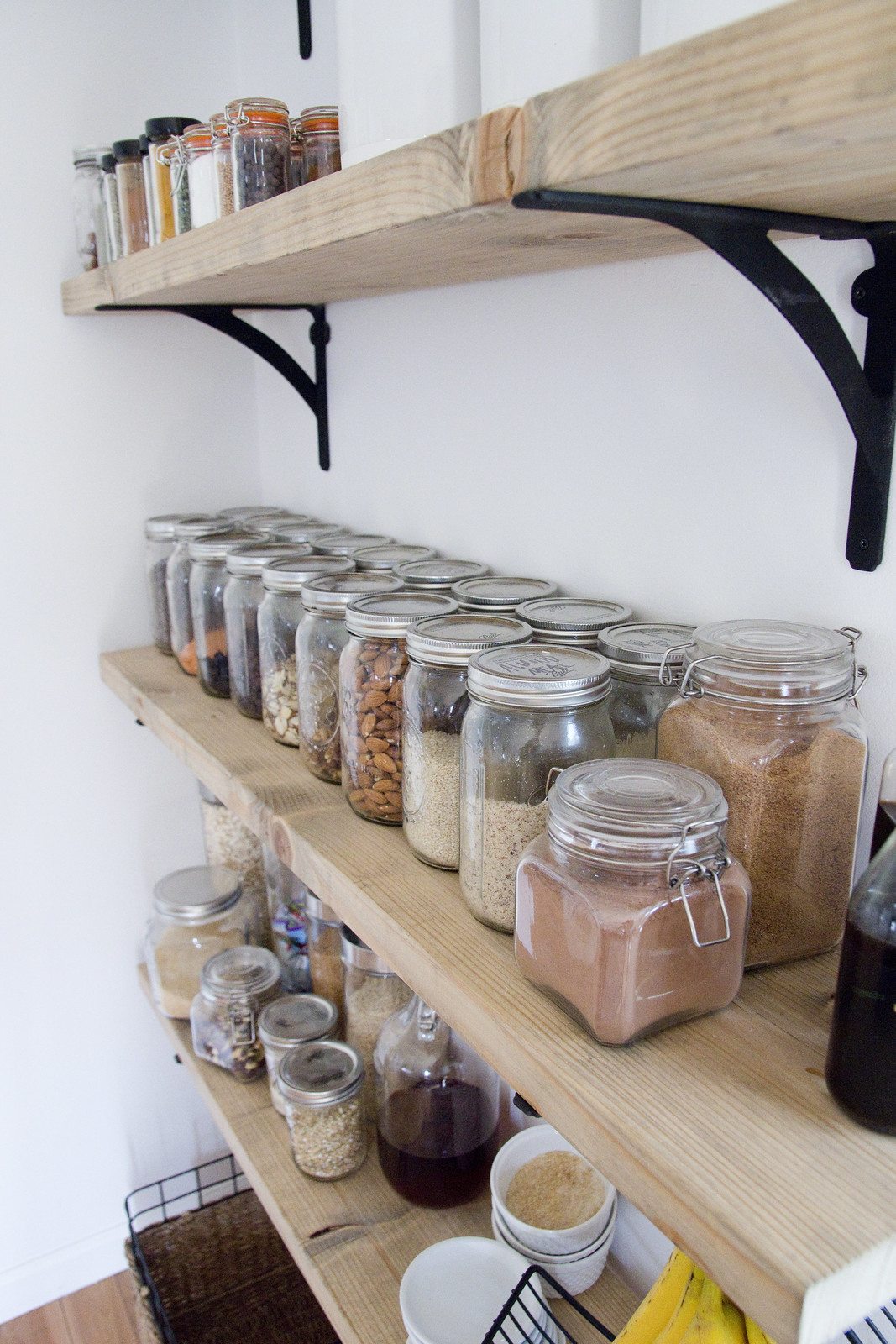 Pantry Shelves 8 Tips For Creating Successful Open Shelving And A Pantry Jen