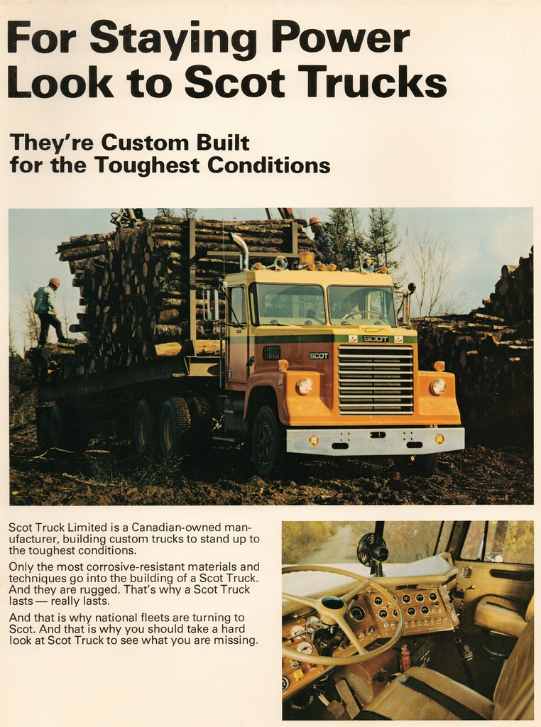 1976 Scot truck sales brochure, page 2 This page of the br\u2026 Flickr