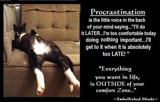 Motivational quotes - Procrastination Motivational quotes \u2026 Flickr - quotes about procrastination
