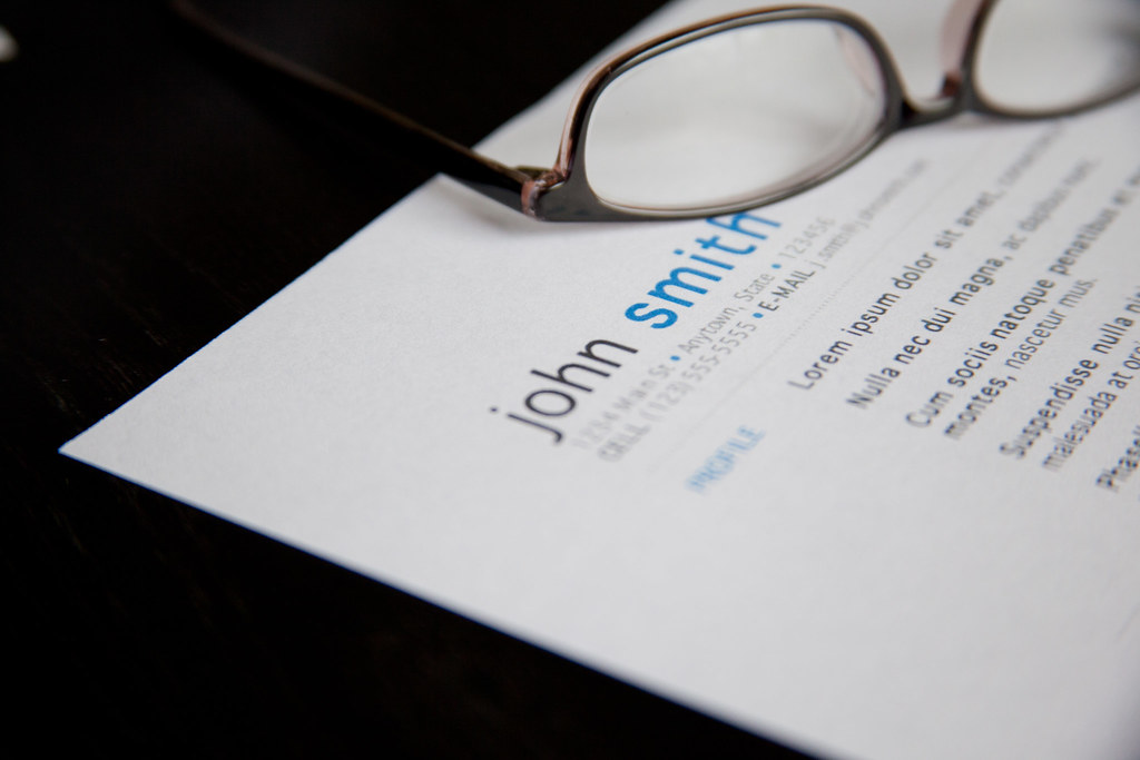 Resume - Glasses Job Resume with Glasses When using this i\u2026 Flickr