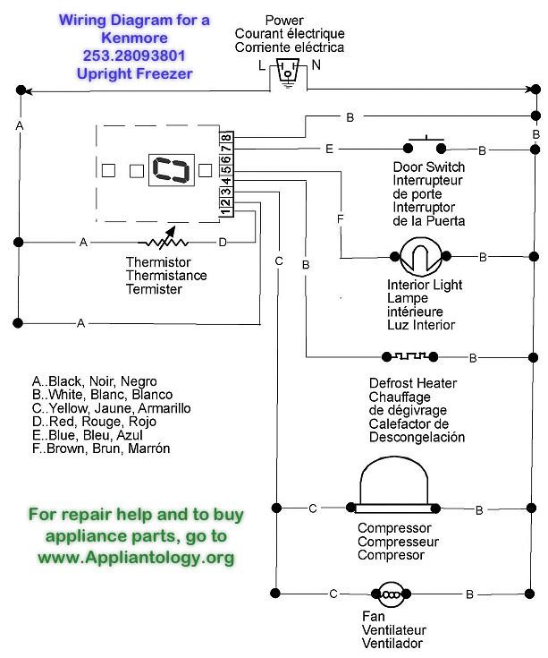 Signature Freezer Wiring Diagram - 12tramitesyconsultas \u2022